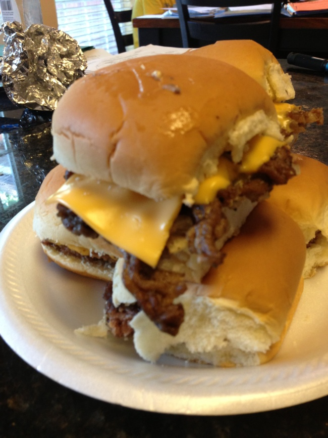 Copycat white castle burger recipe cajunmamacookin 39 s blog for White castle double fish slider with cheese
