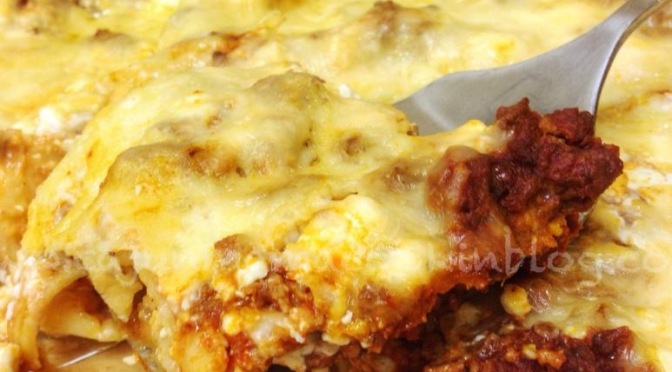 Lazy Girl's Lasagna