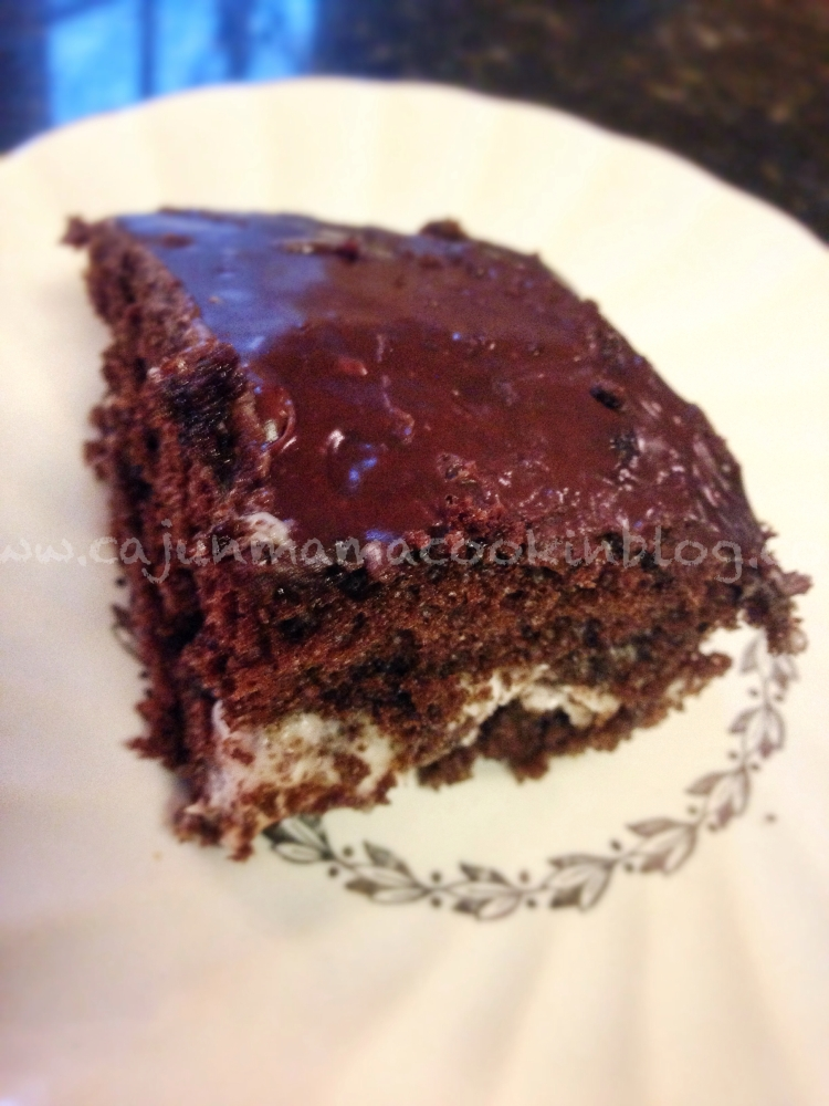Whoopie Pie Cake aka the ugliest cake I have ever loved and focusing on what matters (3/3)