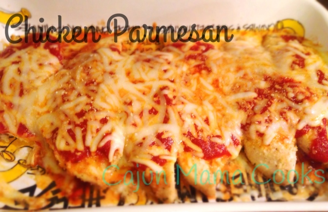 Chicken Parmesan and embracing the past
