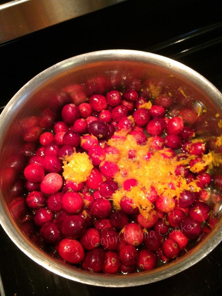 Homemade cranberry sauce (6/6)