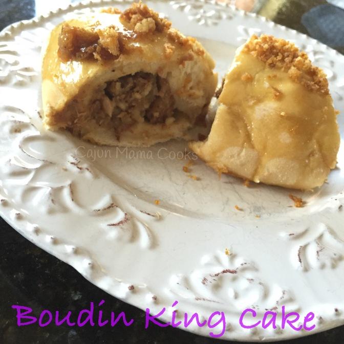 Copycat boudin king cake