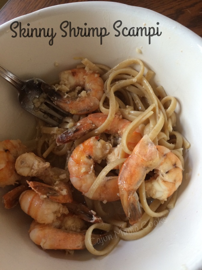 skinny shrimp scampi and for the love of noodles…give me some