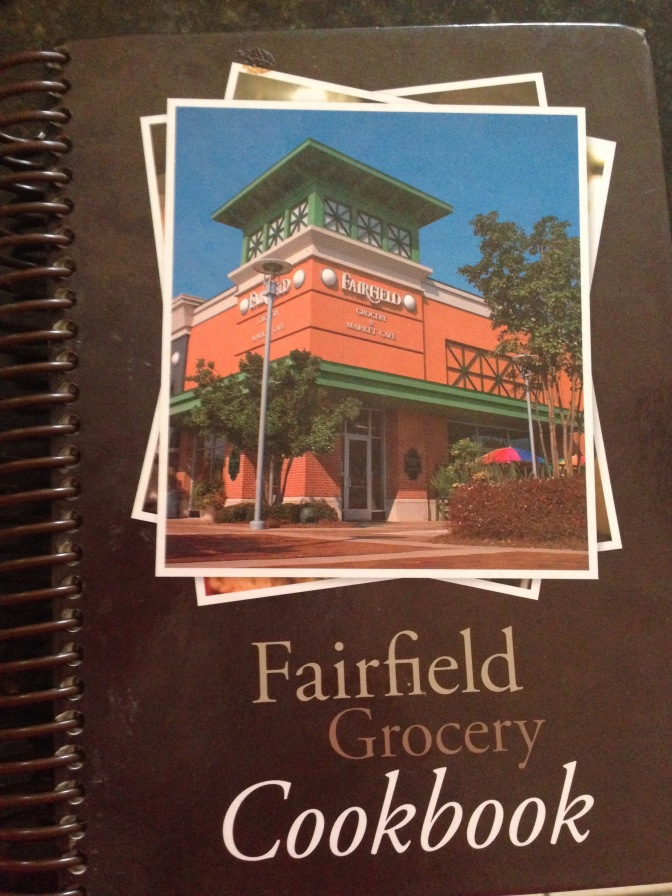 Fairfield Grocery Chicken salad and Blooming where you are planted