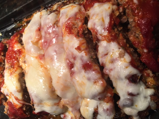 Family pleasing Italian meatloaf