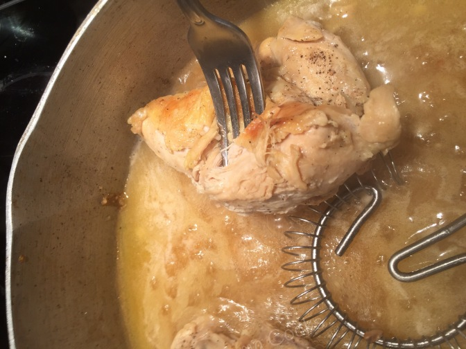 Smothered chicken recipe and other things my mama gave me
