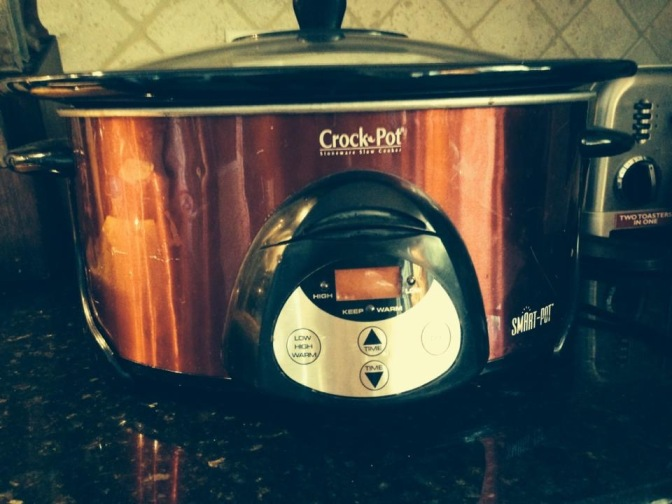 Slow cooker chicken chili and isn't it ironic?