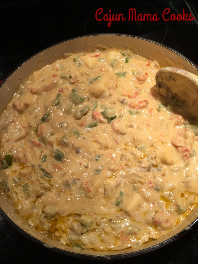 Crawfish Fettucine…like seriously the best stuff ever