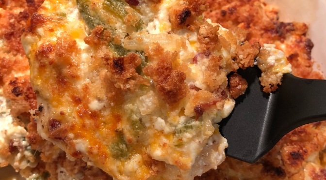 Cajun Mama Goes Keto…Jalapeno popper chicken!